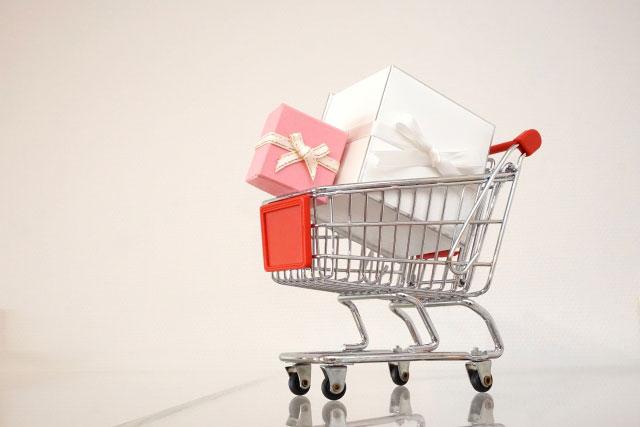 ショッピングカートの写真